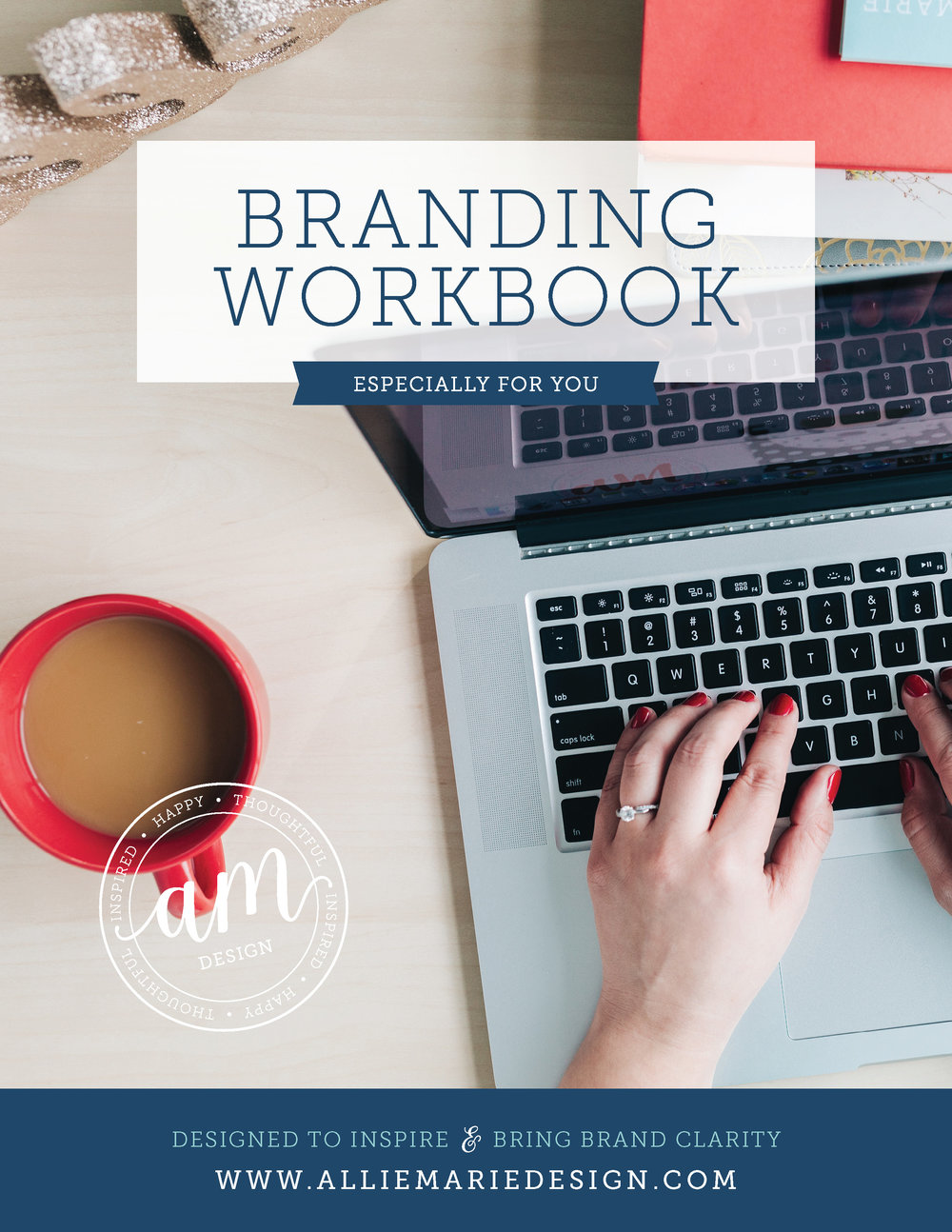 AllieMarie Design Branding Workbook Free Download  |  Visual Branding + Graphic Designer in Minneapolis, MN