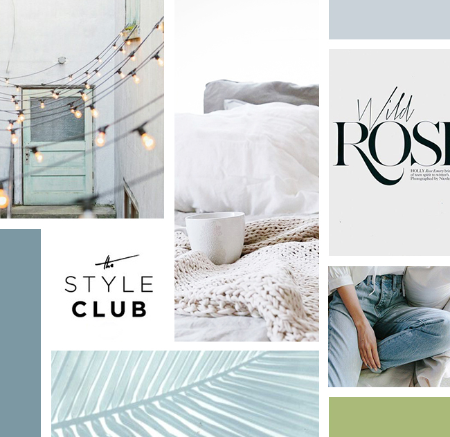 Kayla Hollatz Branding Mood Board