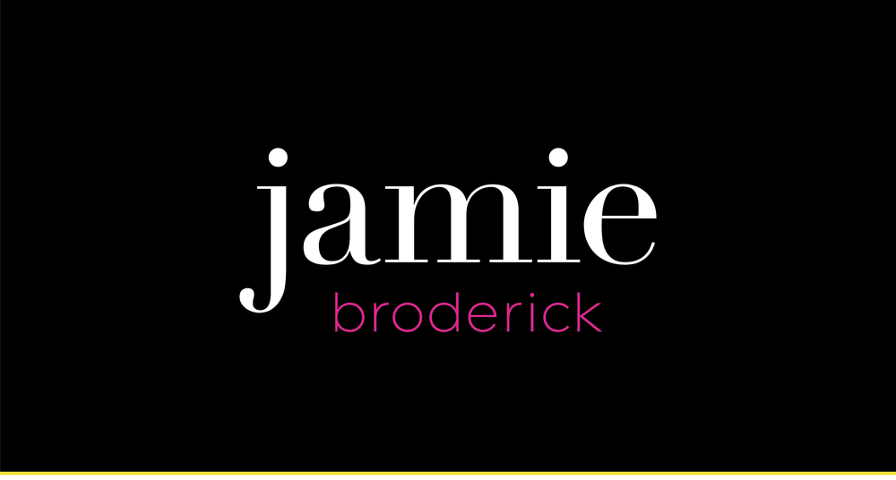 Jamie Broderick Visibility Strategist | Logo Design and Visual Branding by AllieMarie Design