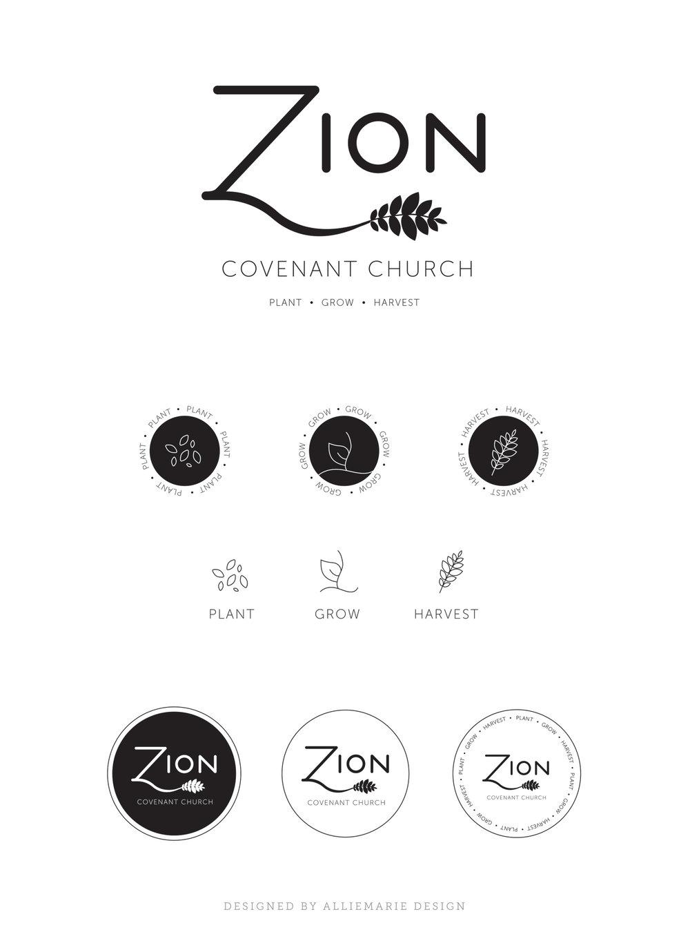 Zion Covenant Logo Concept 1