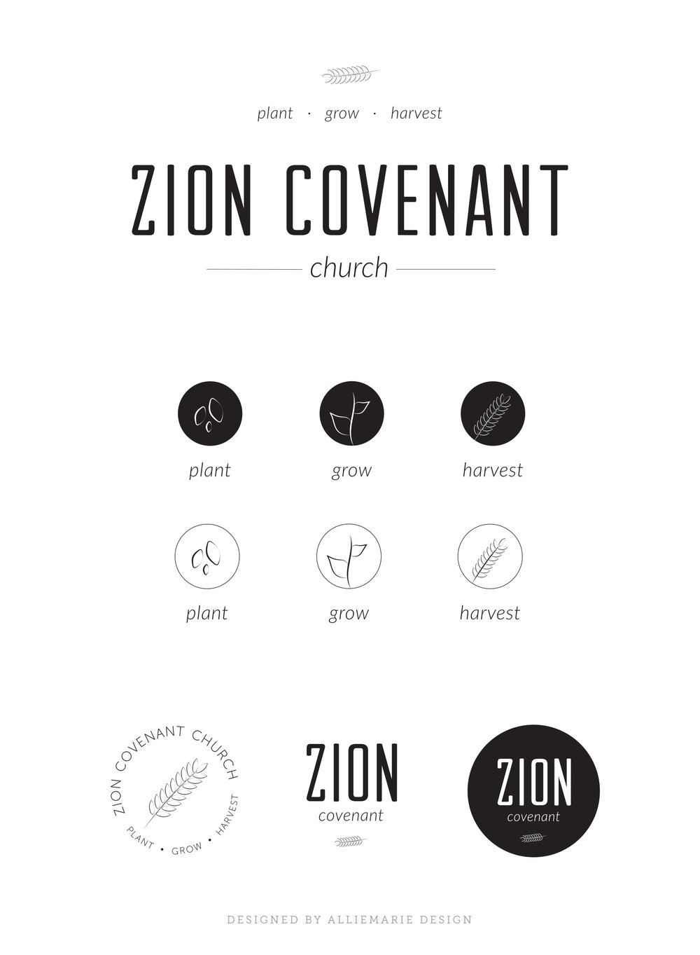 Zion Covenant Church Logo Concept 3