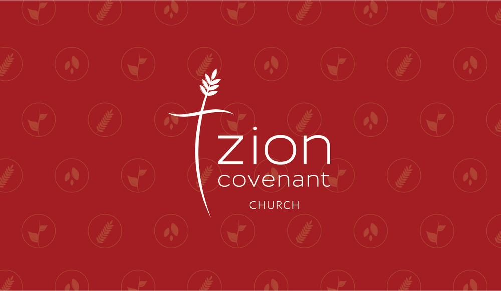 Zion Covenant Church Logo and Branding Design by AllieMarie Design