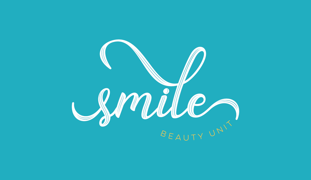 SMILE Beauty Unit Logo and Visual Branding by AllieMarie Design