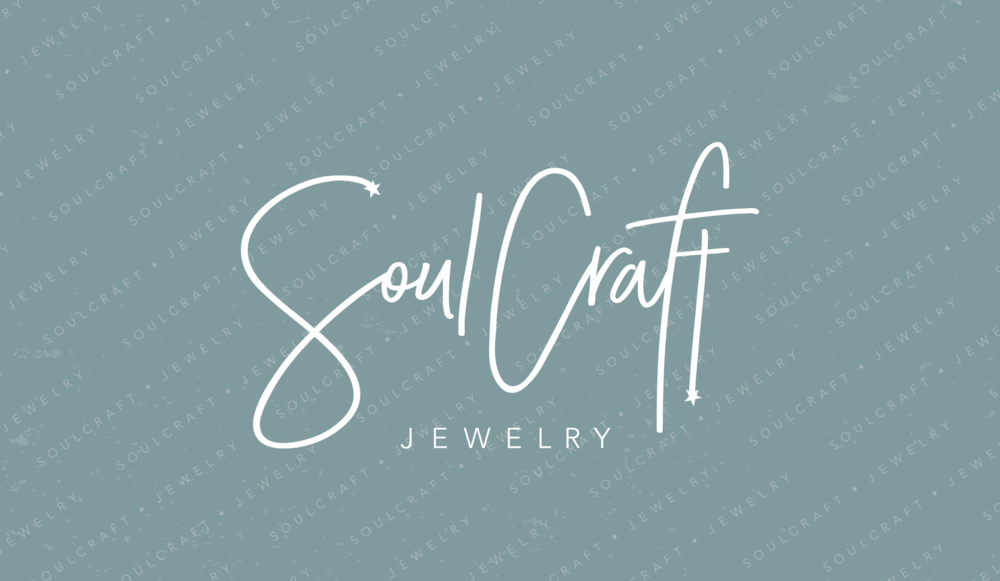SoulCraft Jewelry Logo and Branding Design by AllieMarie Design
