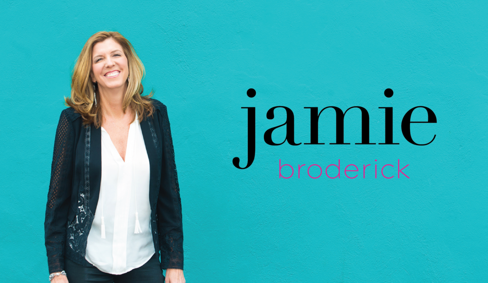 Jamie Broderick Visibility Strategist Logo and Visual Branding Design by AllieMarie Design