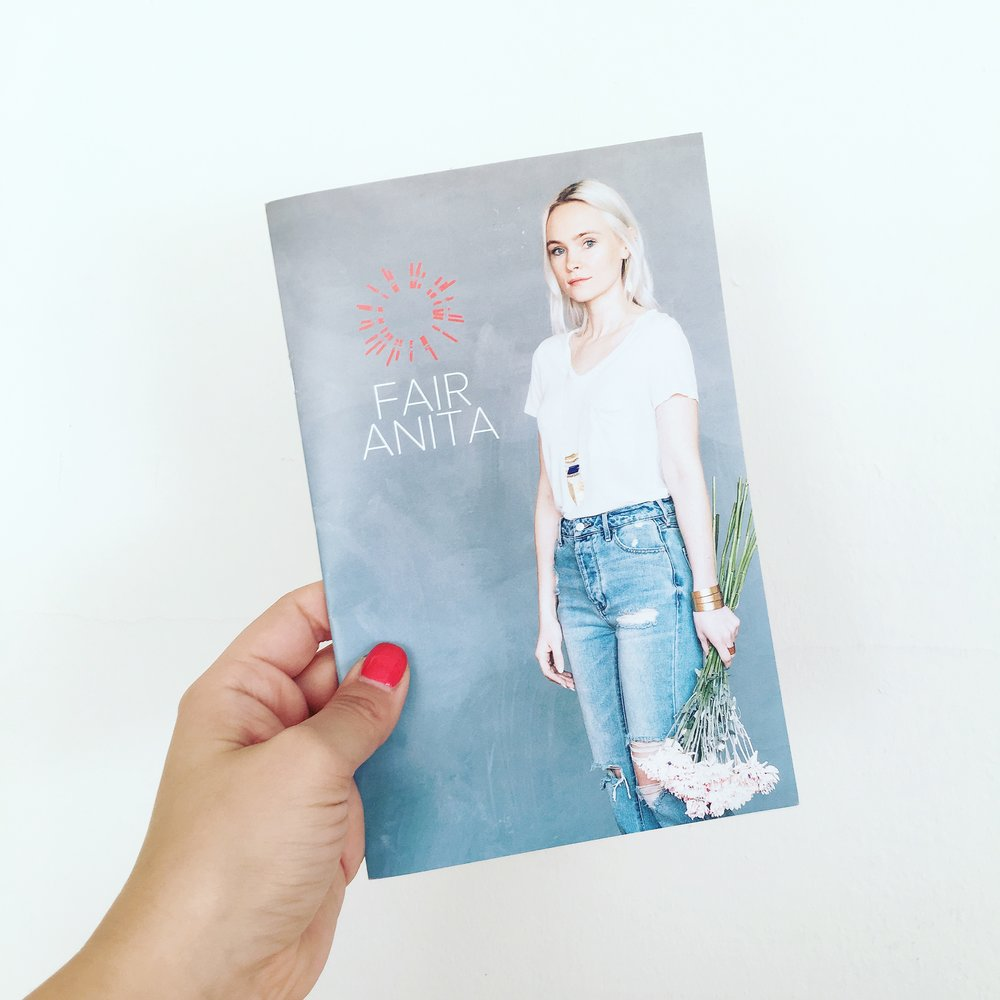 Fair Anita Lookbook Layout and Design by AllieMarie Design