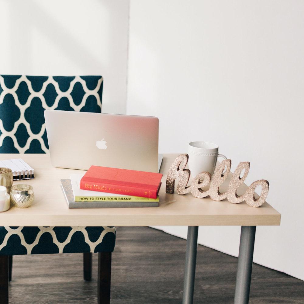 AllieMarie Design  |  Waitlist for Branding Services
