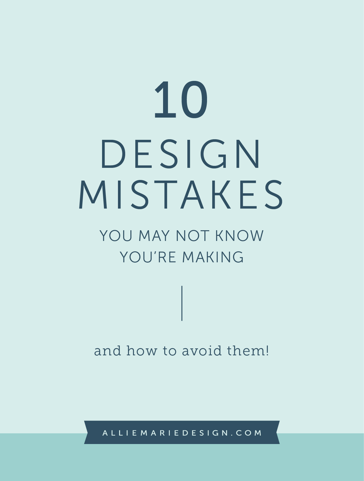 Text Mistakes You're Making