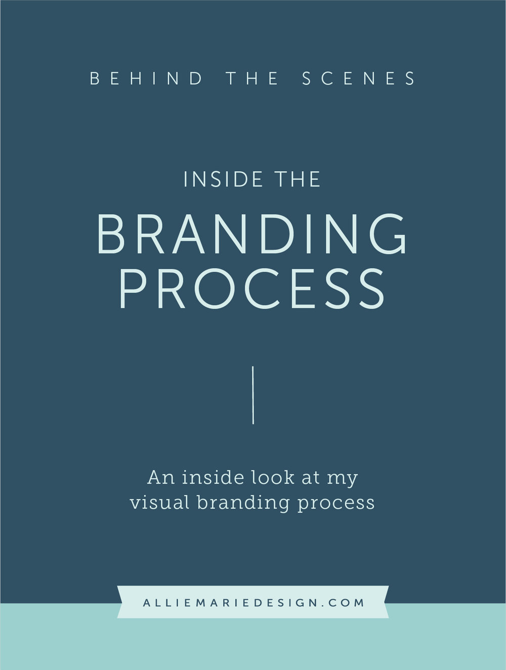 An Inside Look at my Branding Process  |  AllieMarie Design