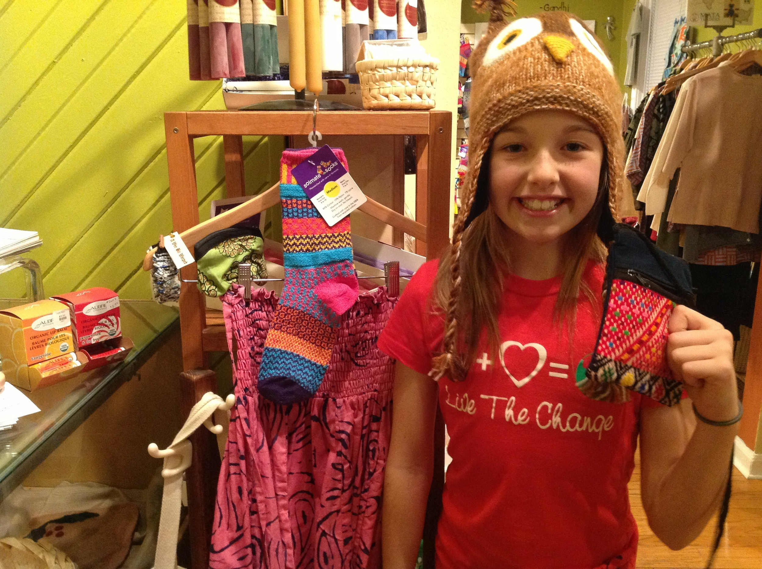 Lydia with great gift ideas for 10-12 year old girls.
