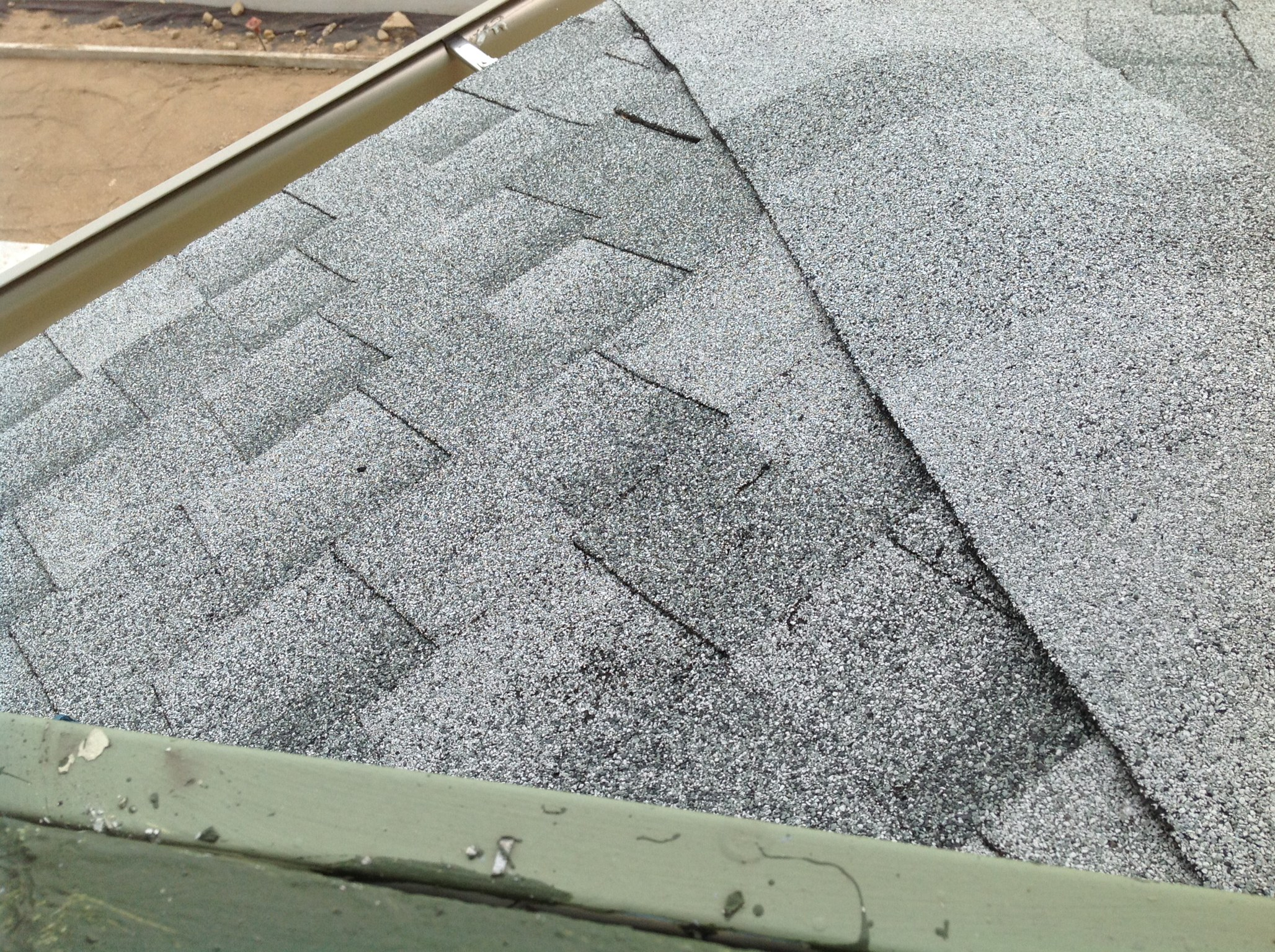 Light colored shingles reflect sunlight in summer, reducing cooling costs, and last longer than dark colors.