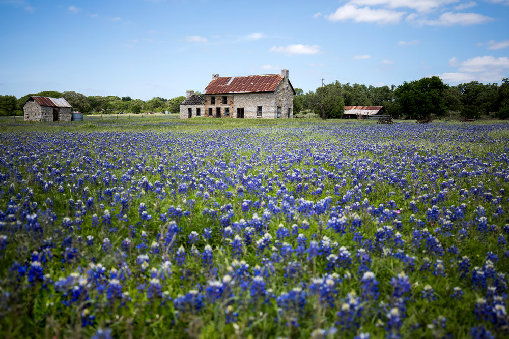The Bluebonnet House north of Marble Falls, Texas | New Braunfels Photographer