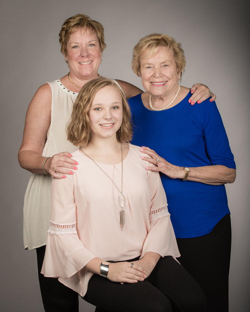Generational photography is a beautiful way to commemorate Mother's Day.