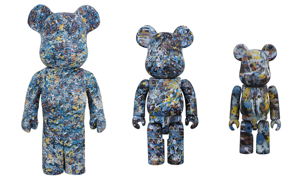 BE@RBRICK x Pollock Studio Collection, 2015
