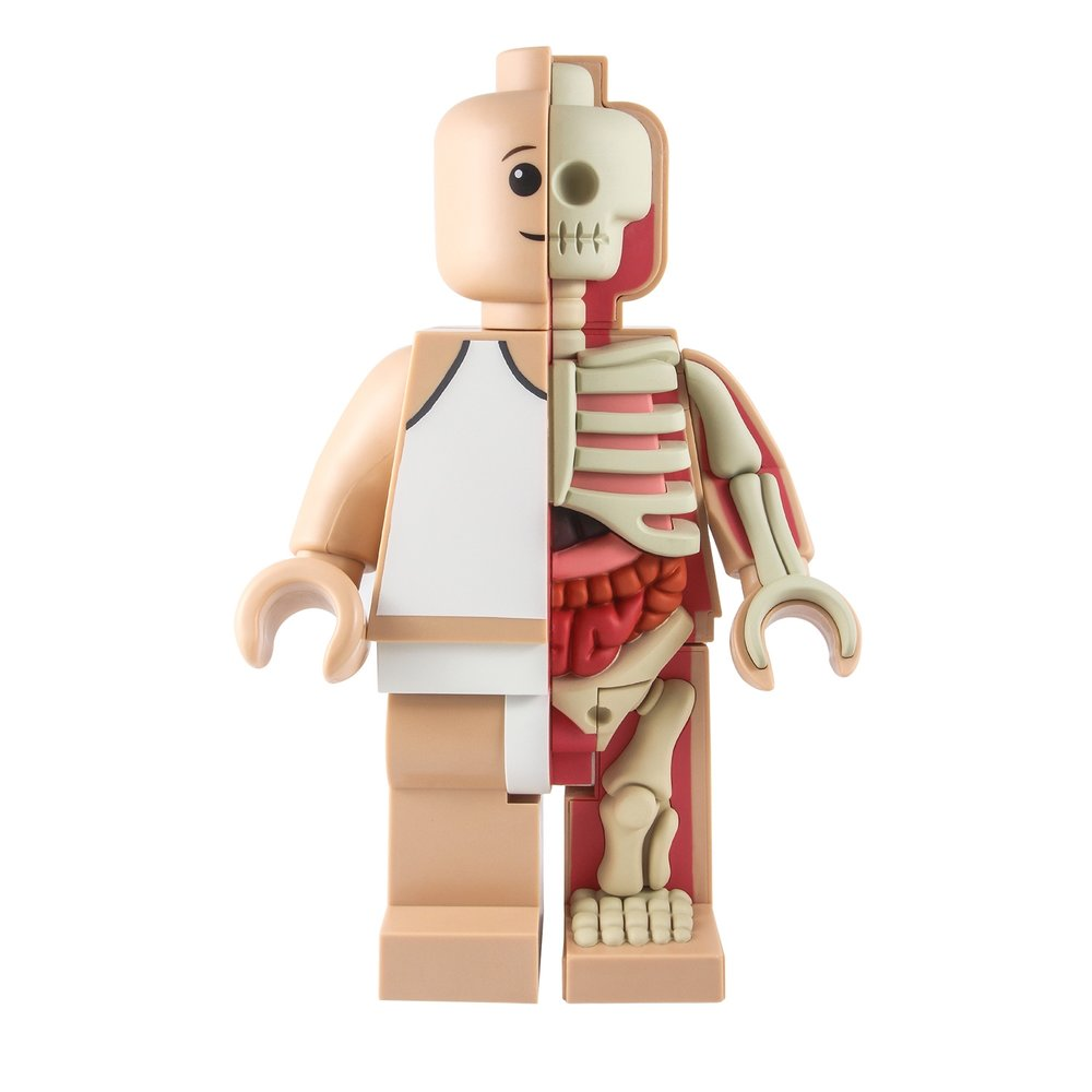 Jason Freeny Lego Sculpture