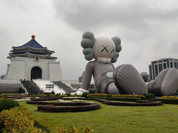 """He is not sad! He's just hanging out"" - mentioned Kaws about his Holiday Companion"