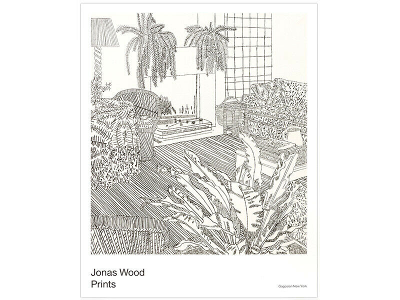 Jonas Wood Face Painting Dallas Museum of Art Exhibition Poster Thick Paper Stoc