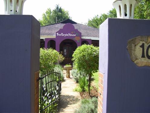 The purple house, winterton