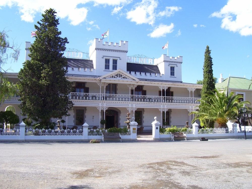 the magnificent lord milner hotel, matjiesfontein