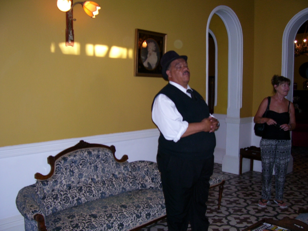 johnnie, matjiesfontein born and bred, and leader of the shortest tour in the world