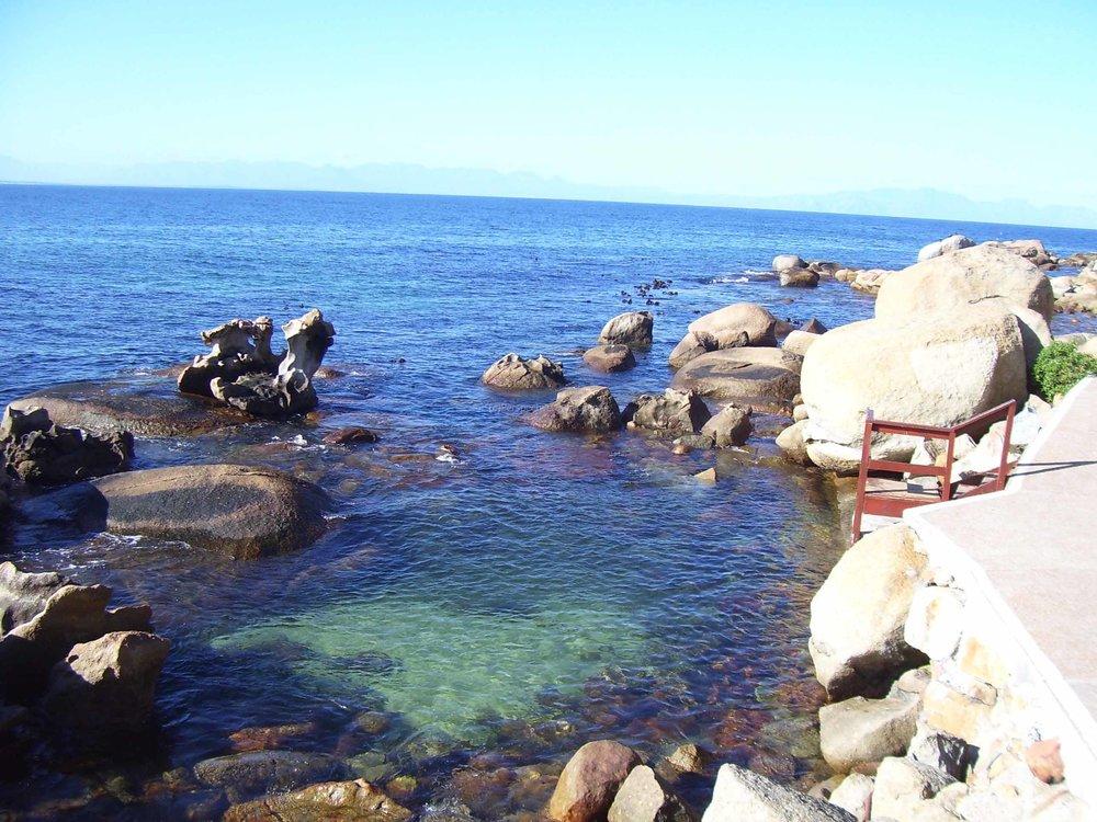 A little corner of Fish Hoek's beach/walkway