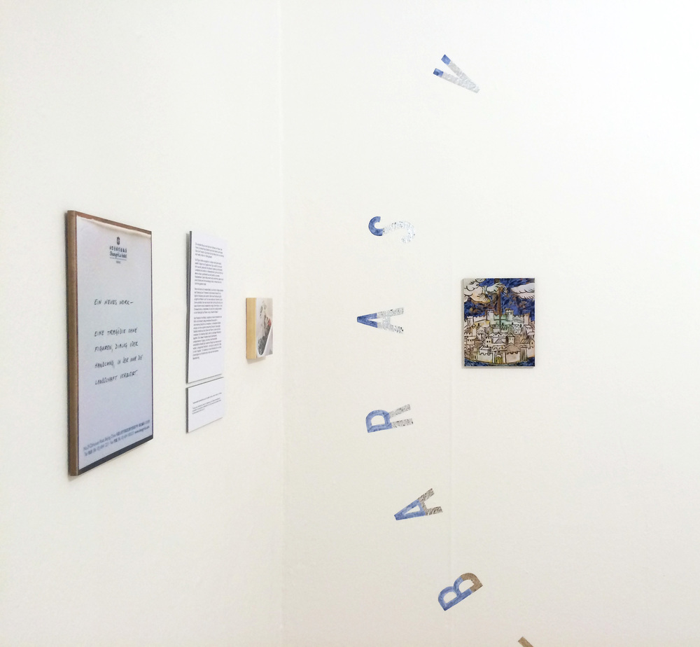 Buyout / Tragedy, installation view, 2015, ACC Galerie Weimar
