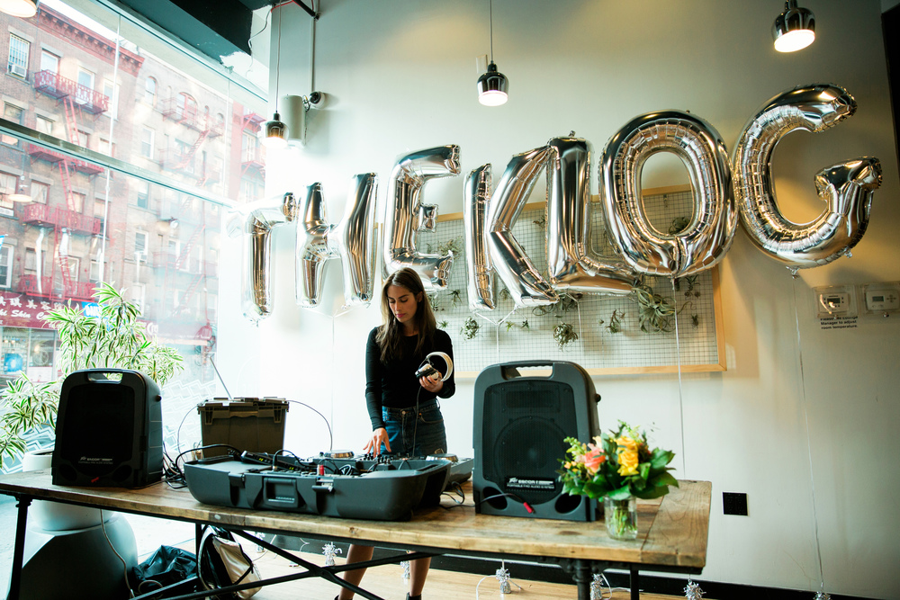 The Klog Launch Party in Soho on June 1st