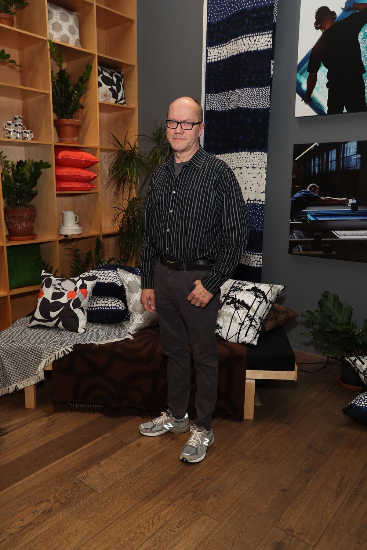 Peter Juslin at Marimekko NYC