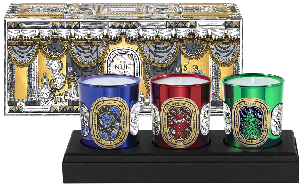 diptyque 3 Candle Holiday Coffret
