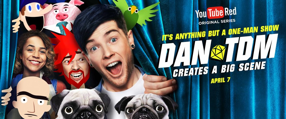 Dan TDM Creates a Big Scene   only on Youtube Red Original Series!
