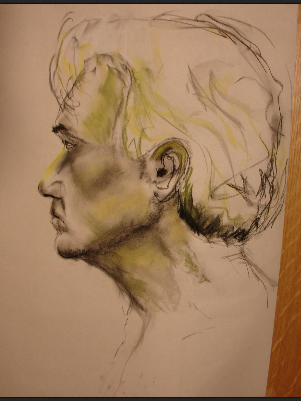 """Portrait Study. 18""""x24"""""""