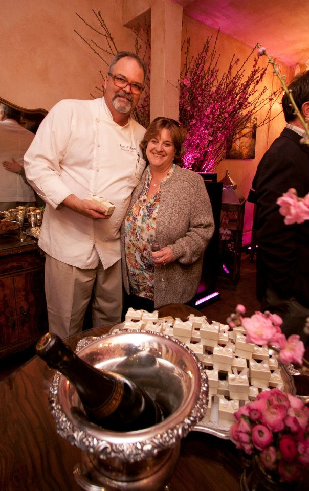Bryan & Anne Scofield celebrate owning Scofield Catering & Management for 30 years.