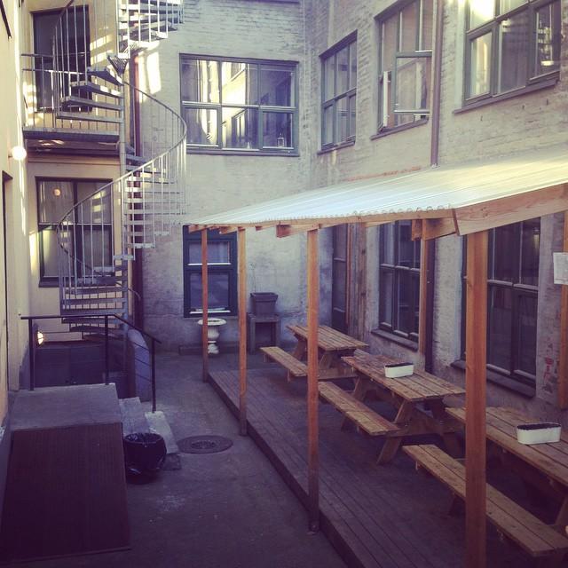 En lugn söndag på SF. #svenskaföreningen #oslo