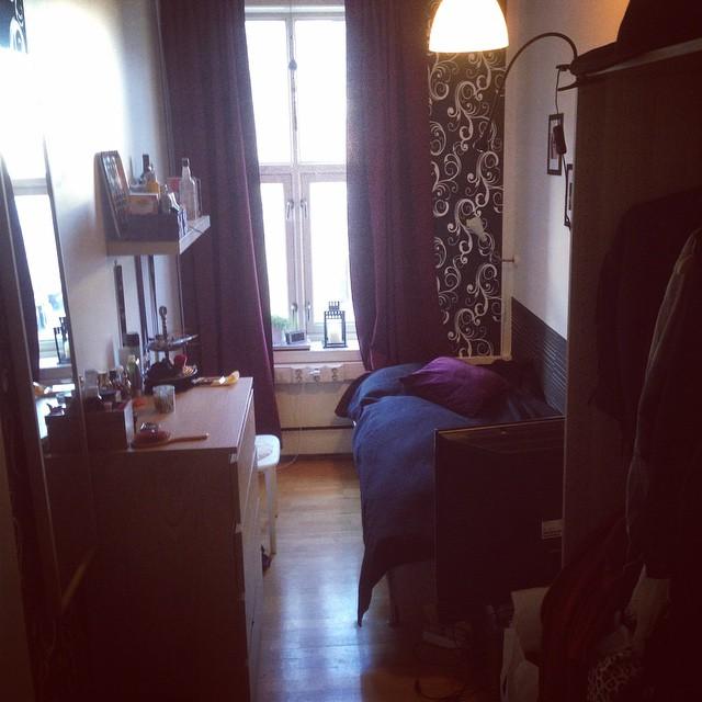 Ett av våra enkelrum. #svenskaföreningen #oslo