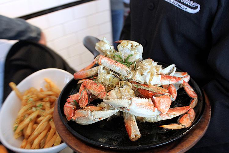 Crab & Parmesan Fries
