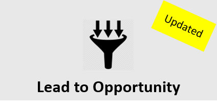 Lead to Opportunity