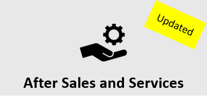 After Sales and Services