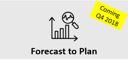 Forecast to Plan