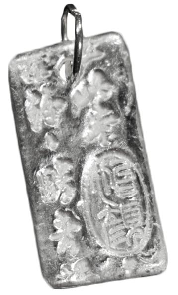 Beginner Stamped Metal Clay Pendant Tutorial