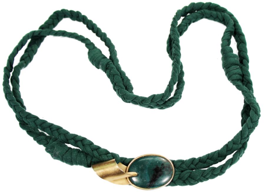 Embellished Rope Necklace Tutorial