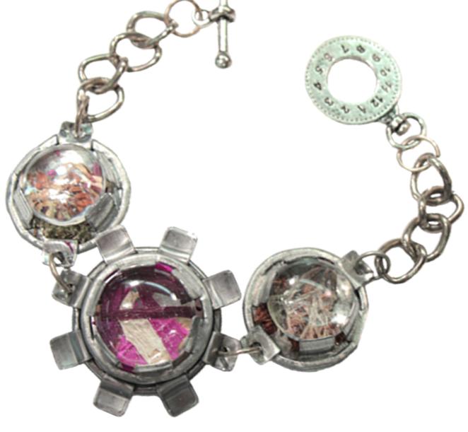 Steampunk Flower Bracelet Tutorial