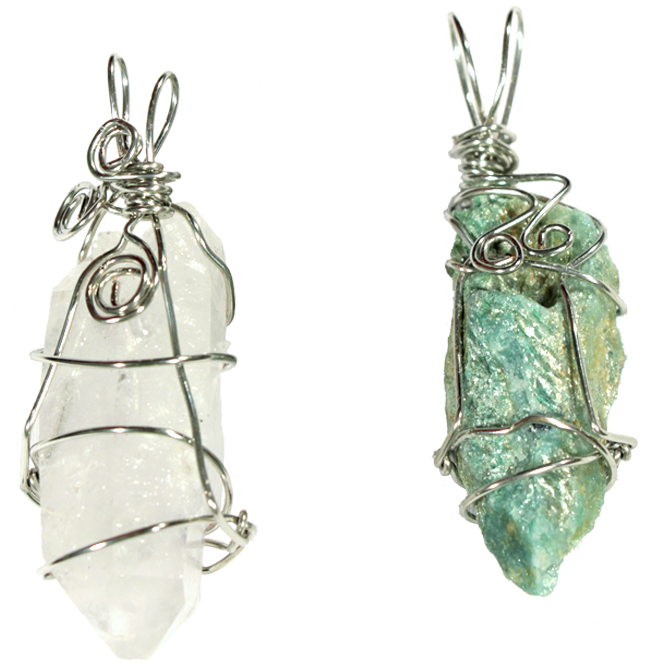 Magic Wrap! Wire Wrapping Tutorial for Crystals