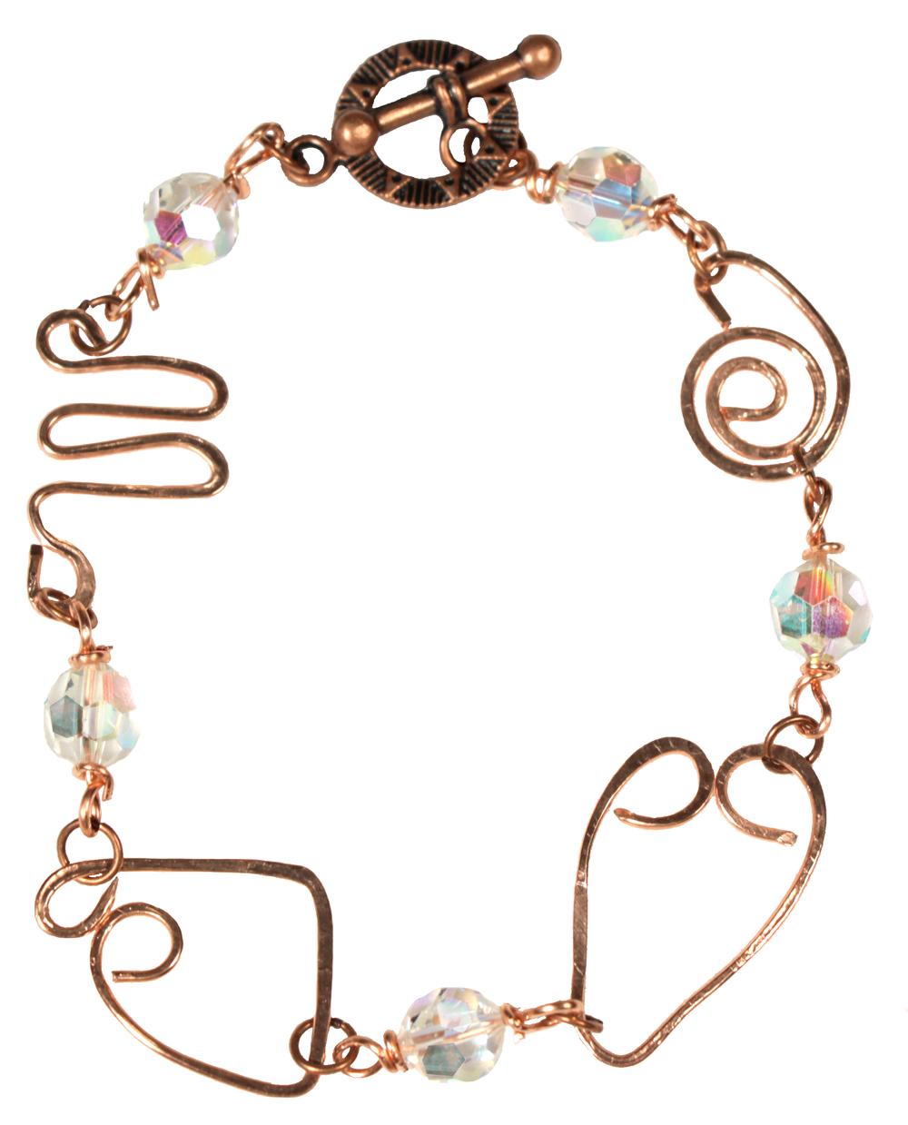 Crazy Wire Wrapped Bracelet Tutorial