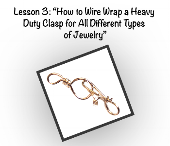 How to Wire Wrap Heavy Duty Clasp for All Different Types of Jewelry