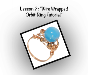 Wire Wrapped Orbit Ring Tutorial