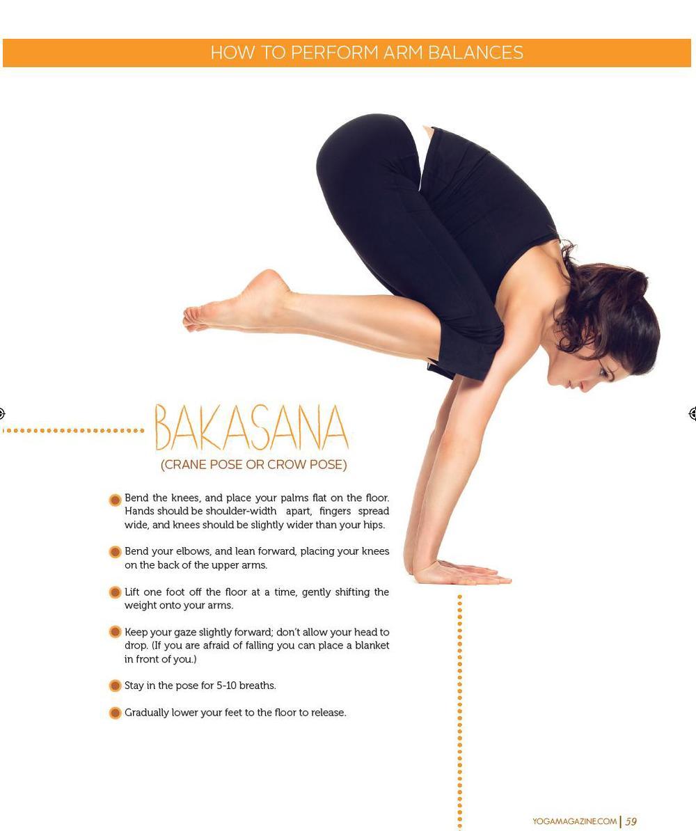 Arm Balance Article Yoga Magazine Nov 2013
