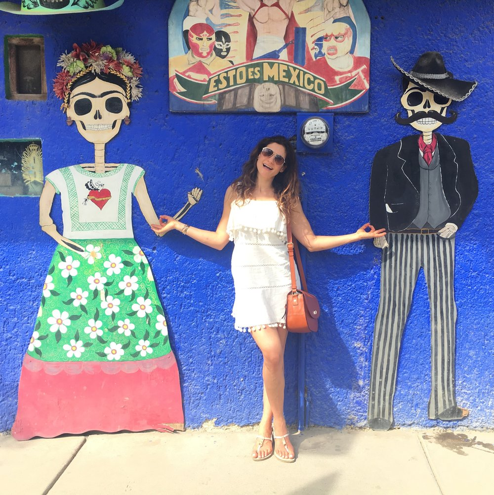 Street art in Sayulita