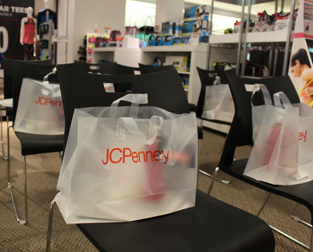 Gift Bags at the JCPenney Event