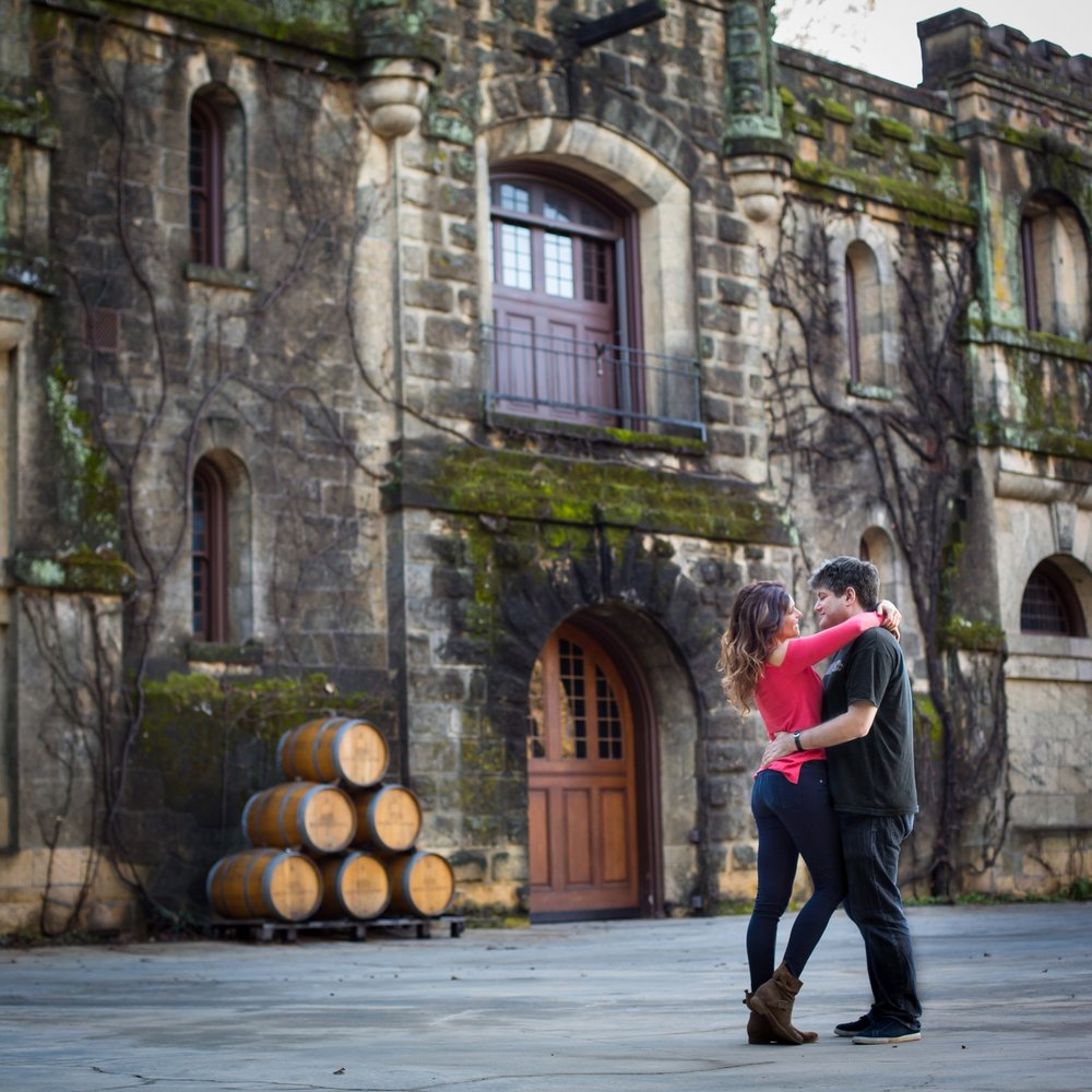 Chateau Montelena Winery in Napa Valley.  Photography by Nathan Rose Photography