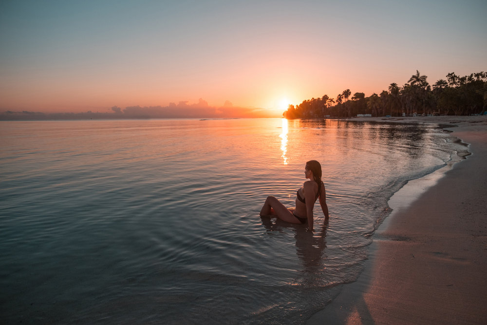 Sunrise Beach at Half Moon Resort in Jamaica